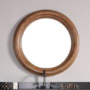 James Martin Furniture Malibu Mirror; 40''H x 40''W x 2.7''D
