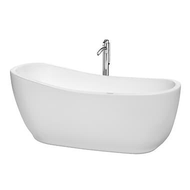 Wyndham Collection Margaret 66.5'' x 27.5'' Soaking Bathtub