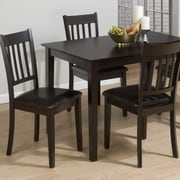 Jofran Marin Country Merlot 5 Piece Dining Table Set
