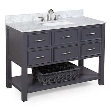 KBC Hampshire 48'' Single Sink Bathroom Vanity Set