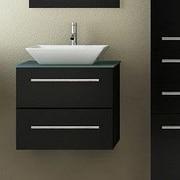JWH Living Carina 24'' Single Vessel Modern Bathroom Vanity Set