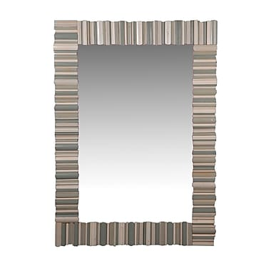 French Heritage Herelle Mirror; Gray Blue