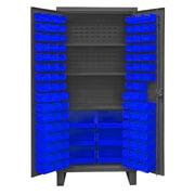 Durham Manufacturing 78'' H x 36'' W x 24''D Lockable Cabinet; Blue