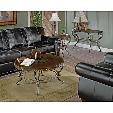 Woodhaven Hill 5553 Series Coffee Table w/ Curved Base