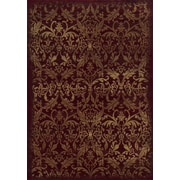 "Rizzy Home Chateau Collection 100% Heat-Set Polypropylene 6'7""x9'6"" Burgundy (CHTCH443600706796)"
