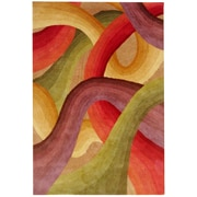 Rizzy Home Colours Collection New Zealand Wool Blend 3' x 5' Multi-Colored (COLCL166800700305)