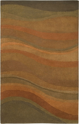 Rizzy Home Colours Collection New Zealand Wool Blend 5'x8' Olive (COLCL178300750508)