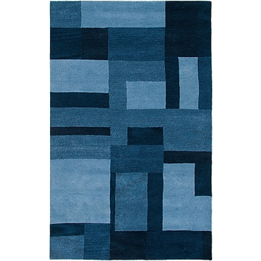 Rizzy Home Colours Collection New Zealand Wool Blend 2' x 3' Blue (COLCL281900090203)