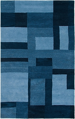 Rizzy Home Colours Collection New Zealand Wool Blend 3' x 5' Blue (COLCL281900090305)