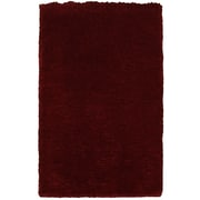 Rizzy Home Commons Collection 100% Polyester 8'x10' Red (CMOCO836200140810)