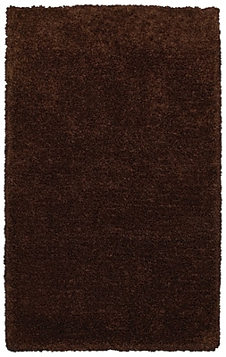 Rizzy Home Commons Collection 100% Polyester 9'x12' Brown (CMOCO836300160912)