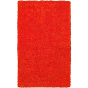 Rizzy Home Commons Collection 100% Polyester 5'x8' Orange (CMOCO836400LJ0508)