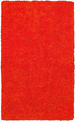 Rizzy Home Commons Collection 100% Polyester 9'x12' Orange (CMOCO836400LJ0912)