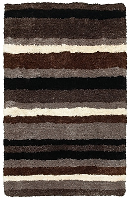 Rizzy Home Commons Collection 100% Polyester 9'x12' Multi-Colored (CMOCO837100330912)