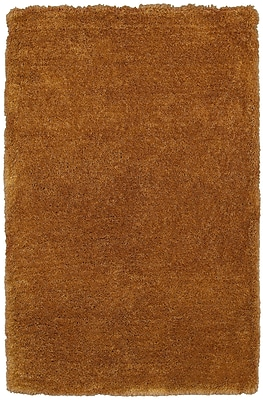 Rizzy Home Commons Collection 100% Polyester 5'x8' Camel (CMOCO842100280508)