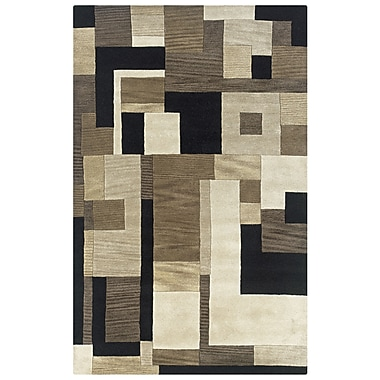 Rizzy Home Craft Collection 100% Wool 2' x 3' Multi-Colored (CRACF078600060203)