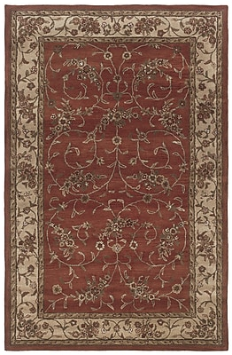 Rizzy Home Craft Collection 100% Wool 3' x 5' Red (CRACF081675040305)