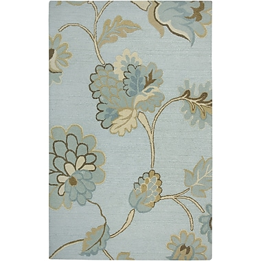 Rizzy Home Dimensions Collection New Zealand Wool Blend 9'x12' Blue (DIMDI161500430912)