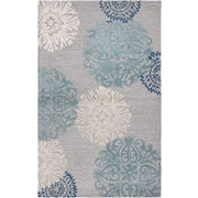Rizzy Home Dimensions Collection New Zealand Wool Blend 3' x 5' Blue (DIMDI224100460305)