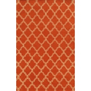 Rizzy Home Julian Pointe Collection 100% Premium Blended Wool 9'x12' Orange (JLPJP874300600912)