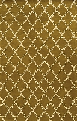 Rizzy Home Julian Pointe Collection 100% Premium Blended Wool 8'x10' Olive (JLPJP874400280810)