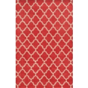 Rizzy Home Julian Pointe Collection 100% Premium Blended Wool 8'x10' Pink (JLPJP874600700810)