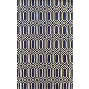 Rizzy Home Julian Pointe Collection 100% Premium Blended Wool 8'x10' Blue (JLPJP877700090810)