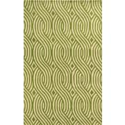 Rizzy Home Julian Pointe Collection 100% Premium Blended Wool 3' x 5' Green (JLPJP8866LVWH0305)