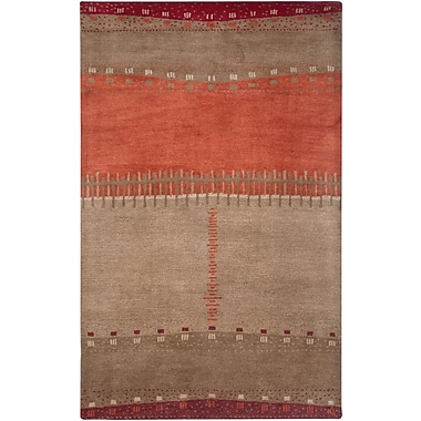 Rizzy Home Mojave Collection 100% Hard-Twist Wool 3'6
