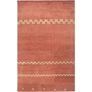 Rizzy Home Mojave Collection 100% Hard-Twist Wool 2' x 3' Rust (MOJMV316000700203)