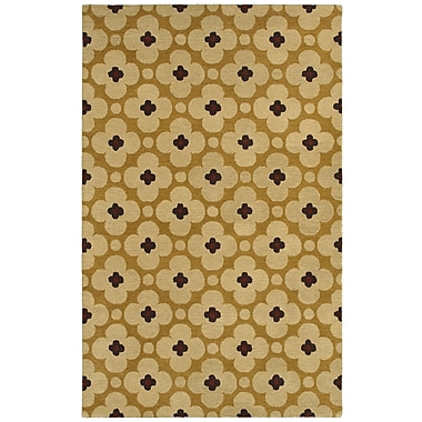 Rizzy Home Opus Collection 100% Wool 2' x 3' Yellow (OPUOP808800450203)
