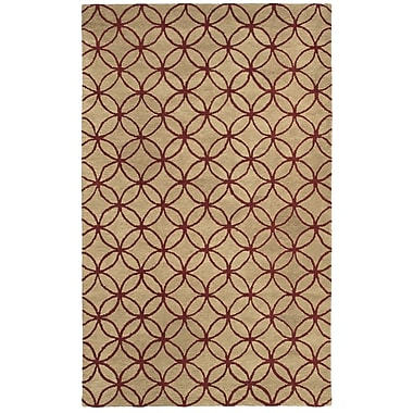 Rizzy Home Opus Collection 100% Wool 3' x 5' Khaki (OPUOP809004700305)