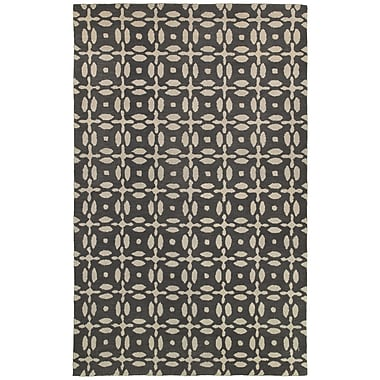 Rizzy Home Opus Collection 100% Wool 5'x8' Gray (OPUOP823100330508)