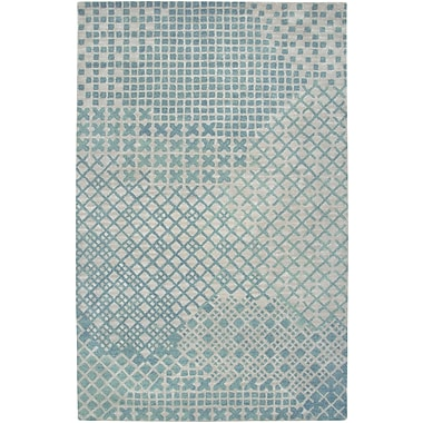 Rizzy Home Pandora Collection Twisted New Zealand Wool Blend 5'x8' Teal (PANPR237800040508)