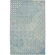 Rizzy Home Pandora Collection Twisted New Zealand Wool Blend 3' x 5' Teal (PANPR237800040305)