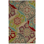 Rizzy Home Pandora Collection Twisted New Zealand Wool Blend 9'x12' Multi-Colored (PANPR814500540912)