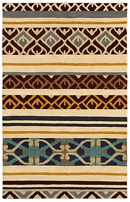 Rizzy Home Pandora Collection Twisted New Zealand Wool Blend 9'x12' Multi-Colored (PANPR817900040912)