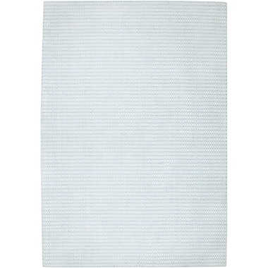 Rizzy Home Platoon Collection New Zealand Wool Blend 5'x8' Blue Gray (PLAPL133300430508)