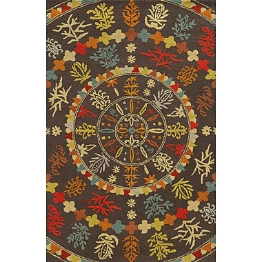 Rizzy Home Rockport Collection 100% Premium Blended Wool 9'x12' Multi-Colored (RPTRP875100120912)