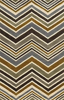 Rizzy Home Rockport Collection 100% Premium Blended Wool 9'x12' Multi-Colored (RPTRP882733280912)