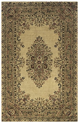 Rizzy Home Shine Collection 100% Semi-Worsted New Zealand Wool 5'x8' Multi-Colored (SHISN034404120508)
