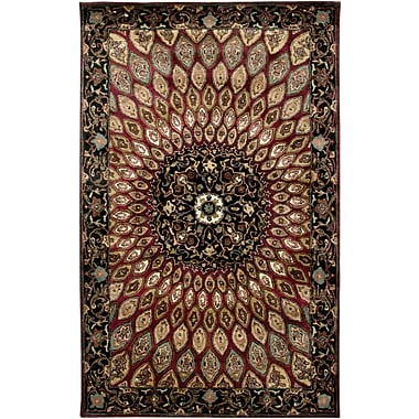 Rizzy Home Shine Collection 100% Semi-Worsted New Zealand Wool 9'x12' Multi-Colored (SHISN248814060912)