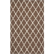 Rizzy Home Swing Collection New Zealand Wool Blend 2' x 3' Brown (SWISG209900440203)