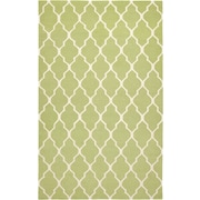 Rizzy Home Swing Collection New Zealand Wool Blend 2' x 3' Green (SWISG210000470203)