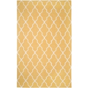 Rizzy Home Swing Collection New Zealand Wool Blend 2' x 3' Yellow/Gold (SWISG241700940203)