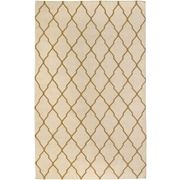 Rizzy Home Swing Collection New Zealand Wool Blend 3' x 5' Light Tan (SWISG296104280305)