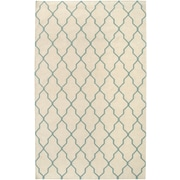 Rizzy Home Swing Collection New Zealand Wool Blend 8'x10' Off White  (SWISG296204330810)