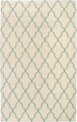 Rizzy Home Swing Collection New Zealand Wool Blend 3' x 5' Off White (SWISG296204330305)