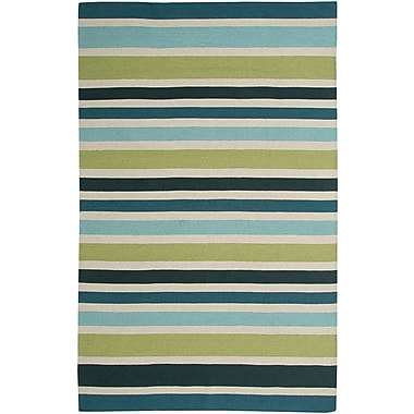 Rizzy Home Swing Collection New Zealand Wool Blend 5'x8' Multi-Colored (SWISG304300300508)