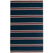 Rizzy Home Swing Collection New Zealand Wool Blend 3' x 5' Navy (SWISG304400090305)